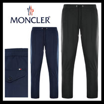 MONCLER Tapered Pants Street Style Plain Tapered Pants