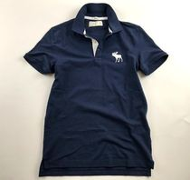 Abercrombie & Fitch Short Sleeves Logo Polos