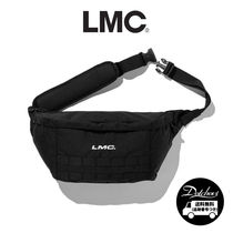 LMC Unisex Nylon Street Style Plain Oversized Hip Packs