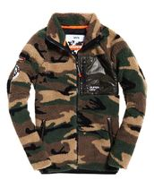 Superdry Camouflage Street Style Long Sleeves Tops