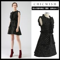 Chicwish Short Sleeveless Elegant Style Dresses