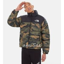 THE NORTH FACE Nuptse Camouflage Street Style Down Jackets
