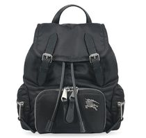 Burberry Office Style Logo Backpacks