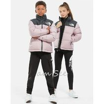 THE NORTH FACE Nuptse Unisex Petit Street Style Kids Girl Outerwear