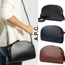 A.P.C. Casual Style Street Style Leather Office Style Shoulder Bags