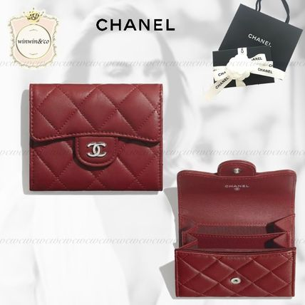 CHANEL TIMELESS CLASSICS Lambskin Coin Cases