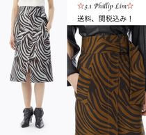 3.1 Phillip Lim Zebra Patterns Other Animal Patterns Cotton Medium