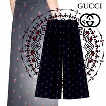 GUCCI Wool Long Culottes