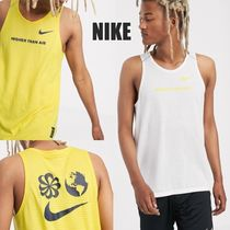 Nike Street Style Collaboration Plain Tanks