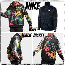 Nike Flower Patterns Tropical Patterns Street Style Track Jackets