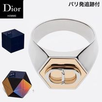 DIOR HOMME Unisex Collaboration Handmade Rings