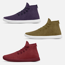 allbirds Toppers Casual Style Street Style Plain Khaki Bold Low-Top Sneakers