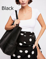 Free People Casual Style A4 Plain Totes