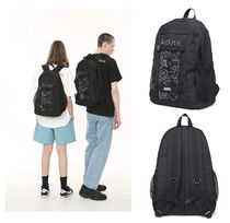 thirdweave Unisex Plain Backpacks