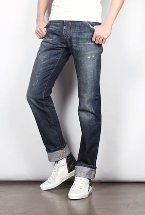 Dolce & Gabbana More Jeans Plain Cotton Jeans 2