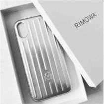RIMOWA Unisex Street Style Plain Smart Phone Cases