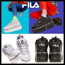 FILA Casual Style Street Style Low-Top Sneakers