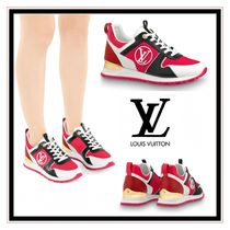 Louis Vuitton Monogram Leather Low-Top Sneakers