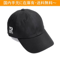 Y-3 Unisex Street Style Collaboration Caps