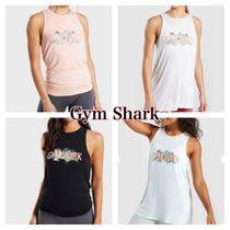 GymShark Crew Neck Tropical Patterns Street Style Long