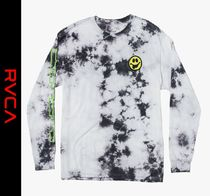 RVCA Street Style Tie-dye Short Sleeves T-Shirts
