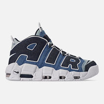 Nike AIR MORE UPTEMPO Faux Fur Street Style Sneakers