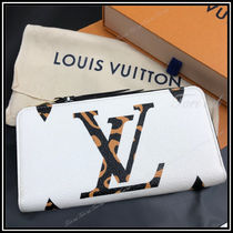 Louis Vuitton ZIPPY WALLET Other Animal Patterns Leather Long Wallets