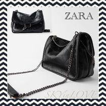 ZARA Casual Style 2WAY Chain Shoulder Bags