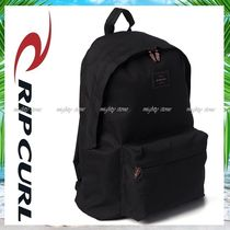 RIP CURL Casual Style A4 Plain Backpacks