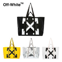 Off-White Street Style Totes