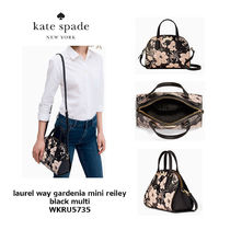 kate spade new york Flower Patterns Saffiano Shoulder Bags