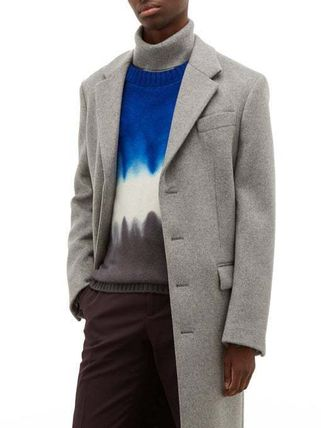 Cashmere Tie-dye Long Sleeves Sweaters