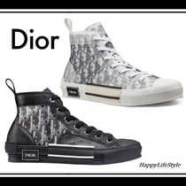 Christian Dior Blended Fabrics Leather Sneakers