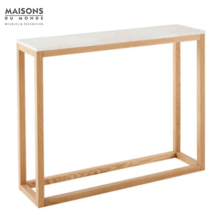 Blended Fabrics Wooden Furniture Consoles Table & Chair