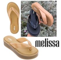 Melissa Platform Casual Style Collaboration PVC Clothing