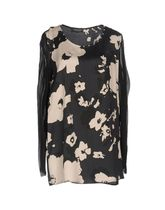 TWIN-SET Flower Patterns Long Sleeves Shirts & Blouses