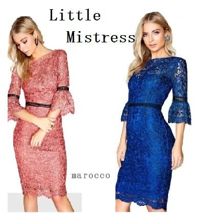 Tight Cropped Medium Lace Dresses