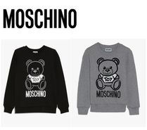 Moschino Unisex Blended Fabrics Petit Kids Girl Tops