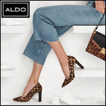 ALDO [ALDO] Elegant Leather High-heel Pumps - Febriclya