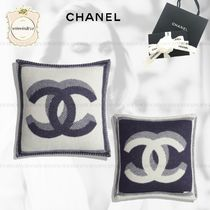 CHANEL Blended Fabrics Decorative Pillows