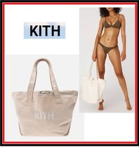 KITH NYC Casual Style Canvas Plain Totes