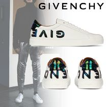 GIVENCHY Street Style Leather Deck Shoes Loafers & Slip-ons