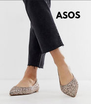 ASOS Casual Style Blended Fabrics Plain Pointed Toe Shoes