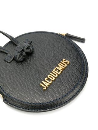 Unisex Plain Leather Small Wallet Small Shoulder Bag