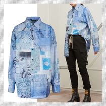 Acne Casual Style Long Sleeves Long Shirts & Blouses