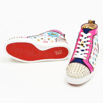 Christian Louboutin With Jewels Logo Low-Top Sneakers