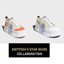 Switfish Street Style Collaboration Plain Shoes