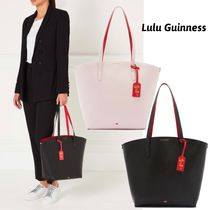 Lulu Guinness A4 Plain Leather Office Style Totes