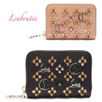 Christian Louboutin Panettone  Studded Leather Folding Wallets