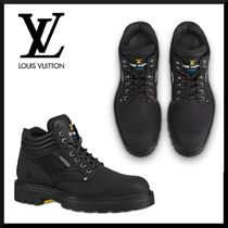 Louis Vuitton Mountain Boots Leather Outdoor Boots